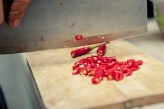 Pimentão vermelho Fotos de Stock