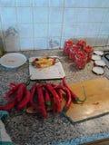 Pimentões dos vegetais Fotografia de Stock Royalty Free
