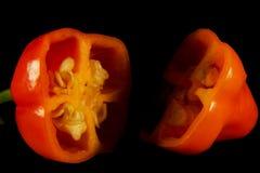 Pimentões quentes Fotografia de Stock