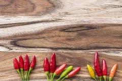 Pimentões vermelhos Fotografia de Stock Royalty Free