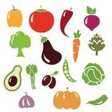 piment de légumes de vecteur Image stock