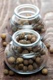Piment in einem Glas Stockbild