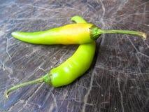 piment vert Photo stock