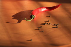 pimenta Foto de Stock