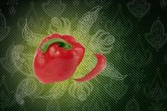 A pimenta. ilustração royalty free
