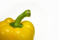 Pimenta amarela madura Foto de Stock Royalty Free