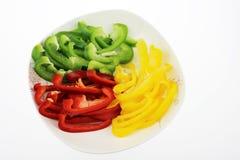 A pimenta da cor foto de stock