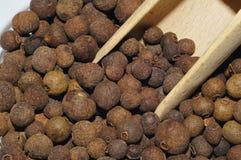 Pimenta da Jamaica, pimenta, Foto de Stock