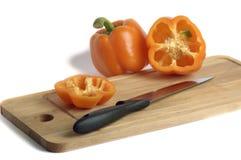 Pimenta da laranja doce Imagens de Stock Royalty Free