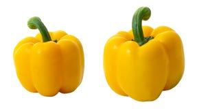 Pimenta de Bell amarela imagem de stock royalty free