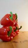 Pimenta de Bell vermelha fotografia de stock royalty free