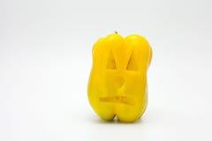 Pimenta de Dia das Bruxas (vegetariano Dia das Bruxas) Imagens de Stock Royalty Free