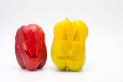 Pimenta de Dia das Bruxas (vegetariano Dia das Bruxas) Imagem de Stock
