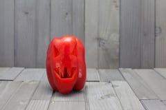 Pimenta de Dia das Bruxas (vegetariano Dia das Bruxas) Fotos de Stock Royalty Free