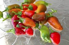 Pimenta de pimentão de Fresno Fotografia de Stock Royalty Free