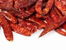 Pimenta de pimentão seca vermelha Fotos de Stock