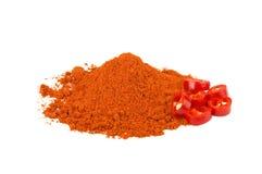 Pimenta de pimentões vermelhos Imagens de Stock