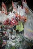 Pimenta do mercado vegeble Foto de Stock Royalty Free