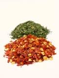 Pimenta e salsa Imagens de Stock Royalty Free