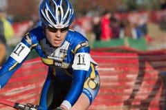 Pimenta Hartlon - pro pilotos de Cyclocross das mulheres Fotos de Stock