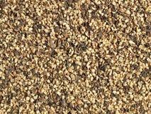 Pimenta preta à terra Fotografia de Stock Royalty Free