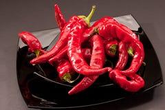 Pimenta quente foto de stock