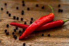 Pimenta quente e picante Foto de Stock