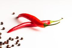 Pimenta quente e picante Imagem de Stock