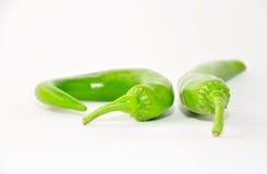Pimenta quente verde. Imagens de Stock Royalty Free