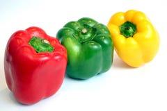 Pimenta três Fotografia de Stock