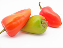 Pimentas búlgaras Imagens de Stock