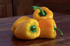 Pimentas de Bell Fotografia de Stock