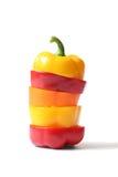 Pimentas de Bell Imagem de Stock