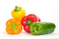 Pimentas de cores diferentes. Fotografia de Stock Royalty Free