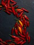 Pimentas de Peperoncino Foto de Stock