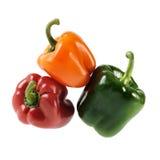 Pimentas de pimentão Fotografia de Stock Royalty Free