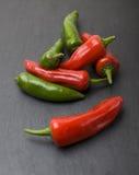 Pimentas de pimentão Imagens de Stock Royalty Free