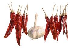 Pimentas de pimentão A Imagens de Stock
