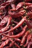 Pimentas de pimentão vermelho fotos de stock royalty free