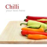 Pimentas de pimentões vermelhas & verdes fotos de stock royalty free