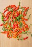 Pimentas de pimentões vermelhos Fotos de Stock