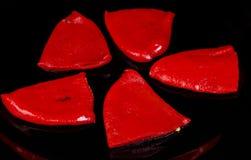 Pimentas de Piquillo Foto de Stock Royalty Free