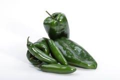 Pimentas do Chile Fotografia de Stock