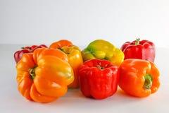 Pimentas do jardim Fotografia de Stock Royalty Free