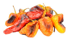 Pimentas doces Roasted Fotografia de Stock Royalty Free