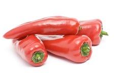 Pimentas doces vermelhas Foto de Stock Royalty Free