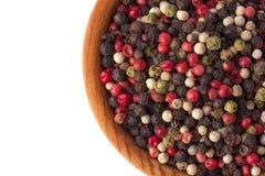 Pimentas Multi-colored Fotografia de Stock