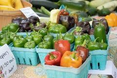 Pimentas para a venda imagem de stock royalty free