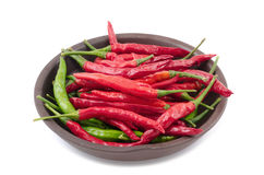 Pimentas quentes Imagens de Stock Royalty Free