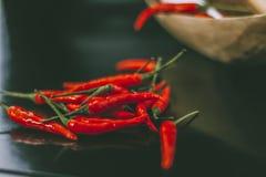 Pimentas quentes Fotografia de Stock Royalty Free